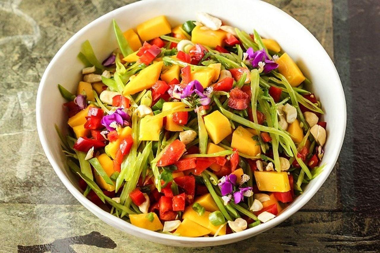 Mango and Cabbage Salad