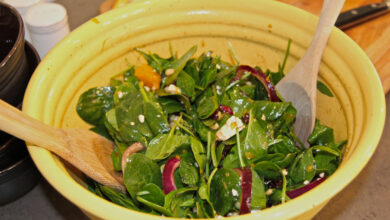 Photo of Spinach Orange Salad