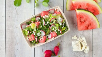 Photo of Mediterranean Watermelon Salad